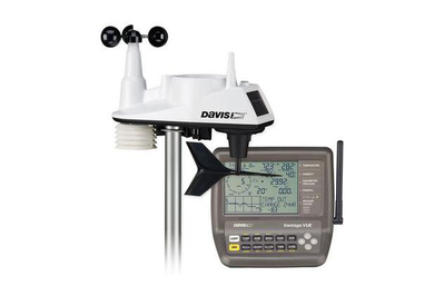 Davis tools 6250 position Vue wifi temperature Station
