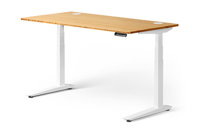 Fully Jarvis Bamboo status Desk