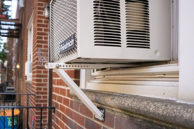 Our spending plan prefer for best HVAC system mount, the damage checker ACB80H, holding up an air conditioner in a casement.