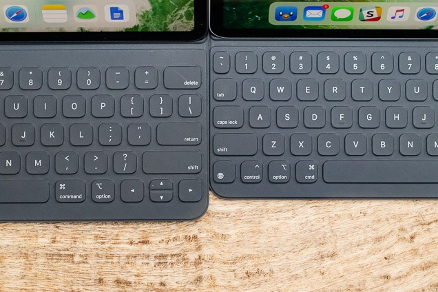 A look at two iPad benefit key-boards