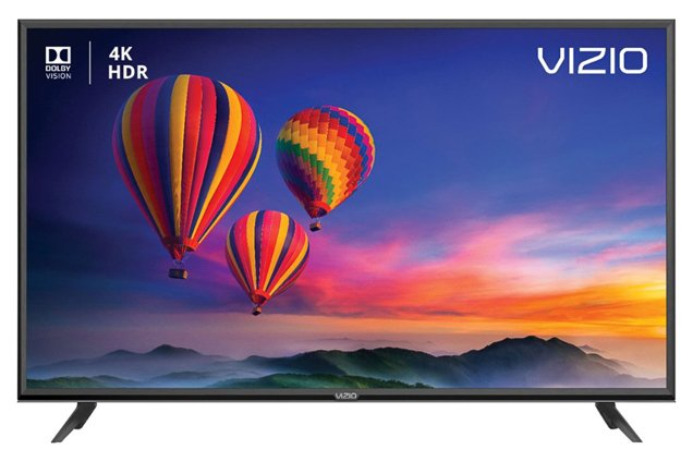A item picture was Vizio E-Series fund 4K TV.