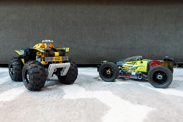 Two in lego automobile groups we recommend, accumulated.