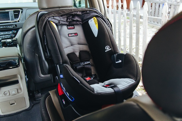 Our runner-up find installed in the trunk seat of your car.