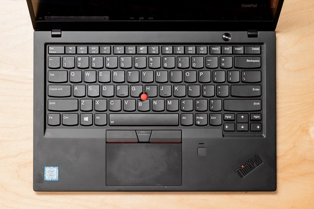 A evaluate the Lenovo's pc keyboard and trackpad.