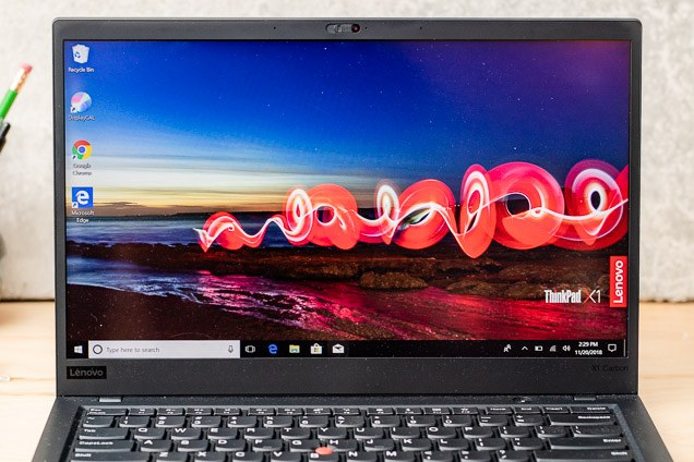A evaluate the Lenovo's test and bezel sizing.