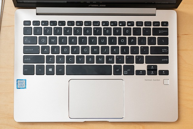 A go through the ZenBook's keyboard and trackpad.